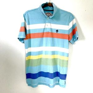 Vintage Brooks Brothers* Stripes Polo Shirt 346 M